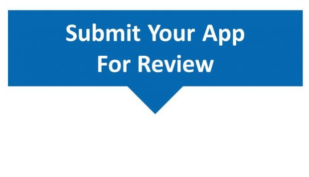 SUBMIT YOUR APP FOR REVIEW @ $ 5 IN CONTACT FORM