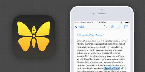 Ulysses Mobile for iOS