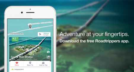 Roadtrippers for iPhone
