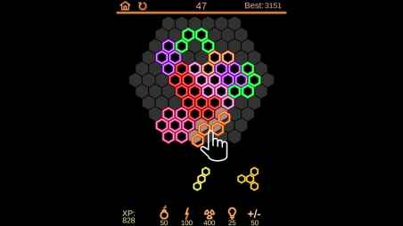 Neon Poly for iPhone