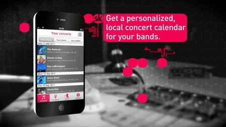 Songkick Concerts for iPhone
