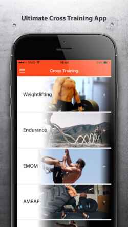 Cross Training for iPhone