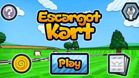 Escargot Kart for iPhone