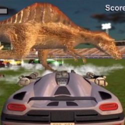 Dino Car Battle-Driver Warrior
