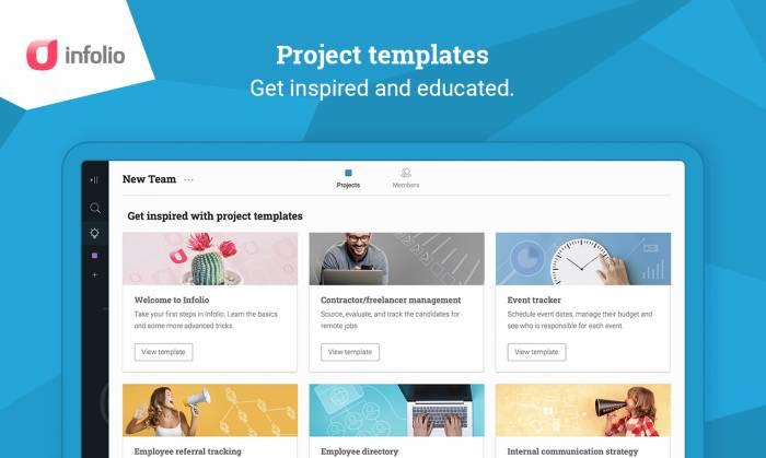 Infolio – Popular Task management and team collaboration app