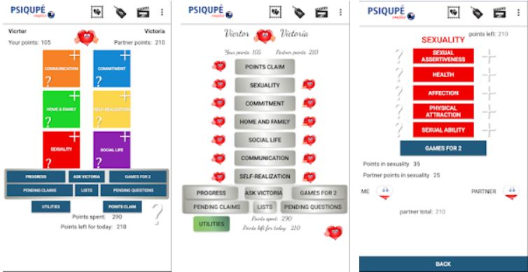 PSIQUPE Couples - The ultimate app for couples